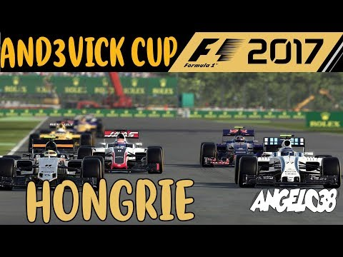 F1 2017 - ANDEVICK CUP - HONGRIE