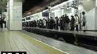 朝の名鉄名古屋駅