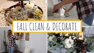 DECORATE WITH ME FOR FALL 2019 | CLEANING MOTIVATION | FALL DECOR | Jessica Elle
