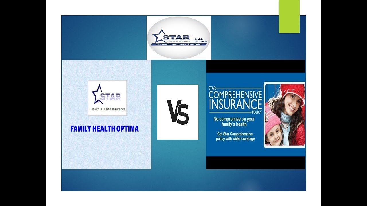 STAR HEALTH INSURANCE | FAMILY HEALTH OPTIMA VS ...