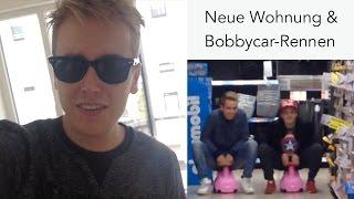 Neue Wohnung & krasses Bobbycar-Rennen ! :D