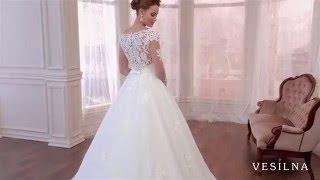 Свадебное платье 2016 года от VESILNA™ модель 3027