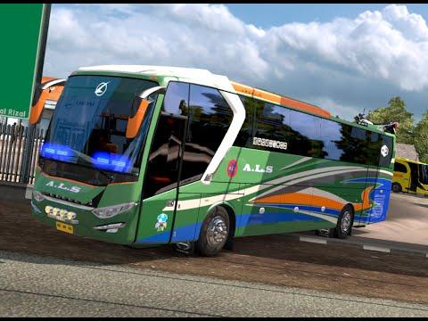 ETS 2 | Laksana All New Legacy Sky - Bus A.L.S Expedisi Muatan Motor Harley Davidson
