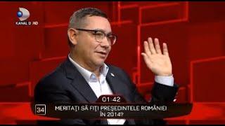 40 de intrebari cu Denise Rifai - Merita Victor Ponta sa fie PRESEDINTELE Romaniei in 2014?