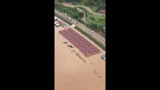 ວຽງຈັນ เวียงจันทน์ Vientiane from above  9-2018