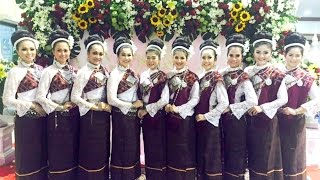 ฟ้อนเอิ้นขวัญ เกษียณอายุราชการ นนทบุรี 2558