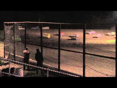 Kankakee County Speedway l UMP Stock Car A-Main l 9.19.14