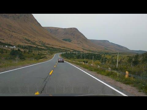 Driving Around Gros Morne National Park