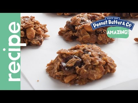 Chocolate Cherry Peanut Butter No Bake Cookies Recipe