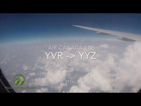 Air Canada 112 | Vancouver (YVR) - Toronto (YYZ) | Trip Report 2018