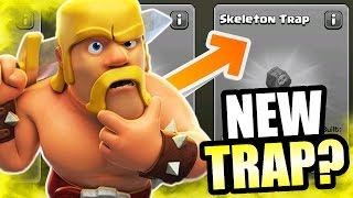 Clash Of Clans - MASSIVE UPDATE COMING SOON! - WILL THERE BE A NEW TRAP? @ClashOfClans