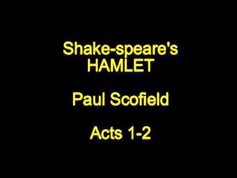 Shake-speare's Hamlet -  Acts 1-2