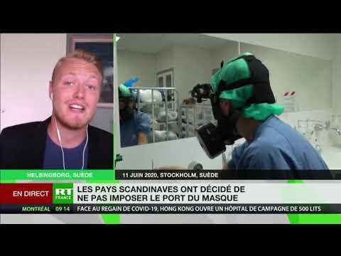 Pas de port du masque en Suède : le témoignage de Nils Fernström