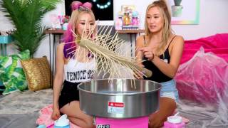 DIY GIANT COTTON CANDY w  WENGIE!