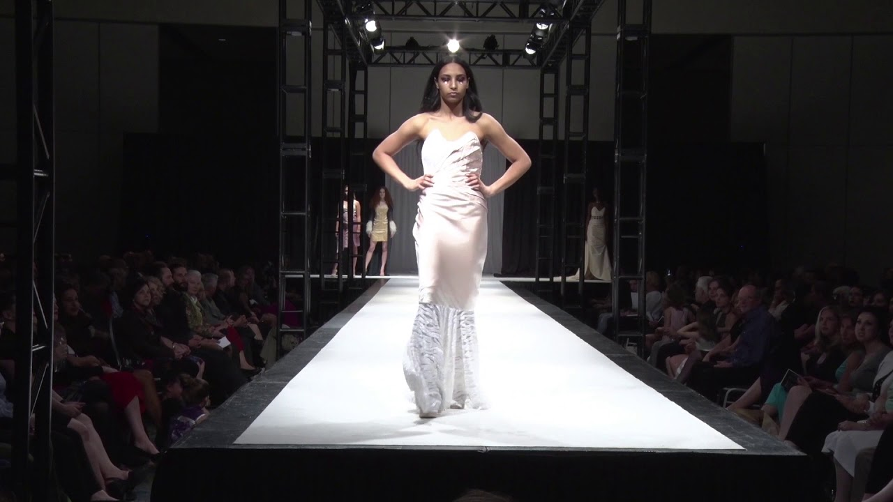 Karissa Besharah Couturier Of The Year 2017 Academy Of Fashion Design Richard Robinson Youtube