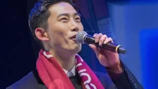 [180211] MC Taecyeon @ Pyeongchang 2018 K-pop Live Site Concert