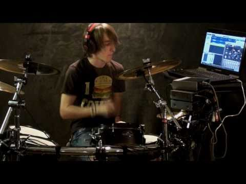 Hinder - Waking Up The Devil (NEW SONG!!) drum cover by MasonVPT Electronic drums