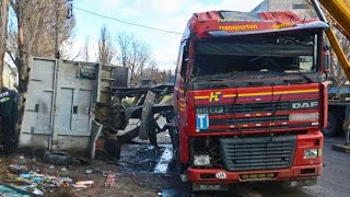 Dangerous Truck crashes, truck accident compilation Part 71