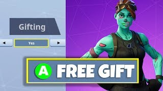 How to GIFT FREE SKINS in Fortnite... (Fortnite Gifting)