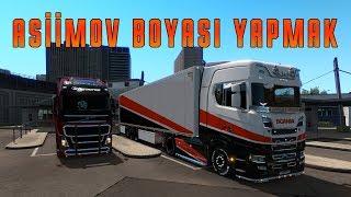 Asiimov Boyası Yapmak (CS:GO) - Euro Truck Simulator 2
