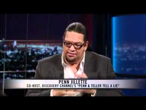 Penn Jillette on Agnosticism and Atheism
