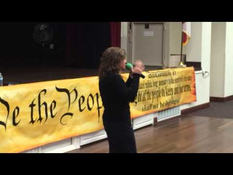 "20141103 KrisAnne Hall ""Genealogy of the Constitution"""