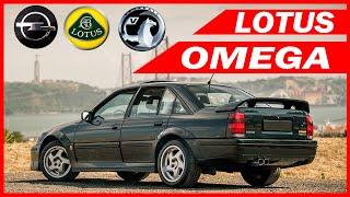 Opel Lotus Omega / История Модели / Опель Лотус Омега / Vauxhall Carlton / Opel Omega A