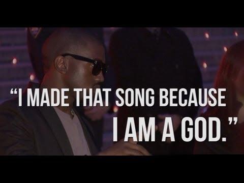 5 BEST KANYE WEST QUOTES - Calls Himself a God!