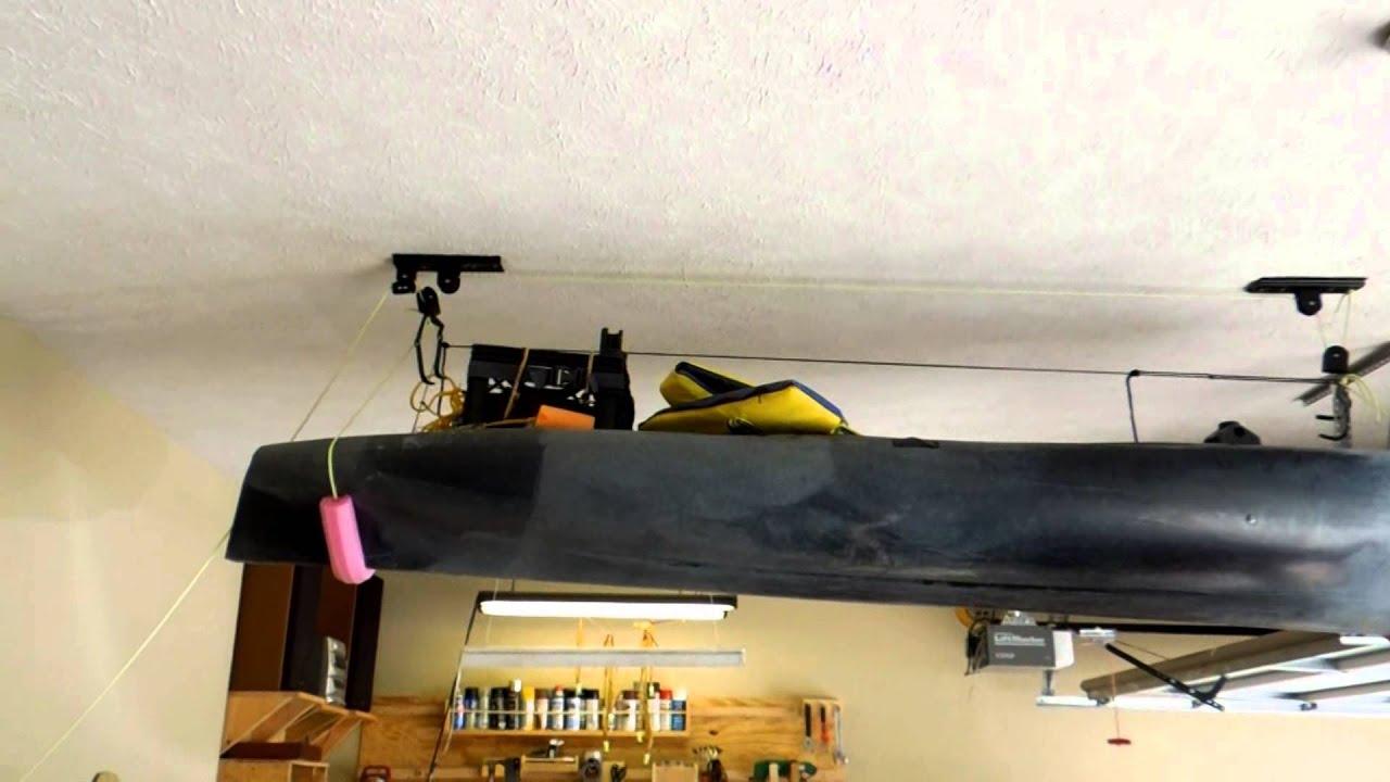 Kayak Lift System Quot Cheap Quot Youtube