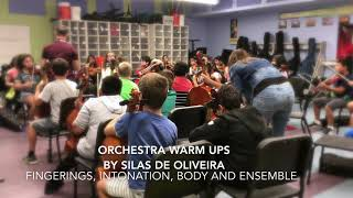 orchestra warm up
