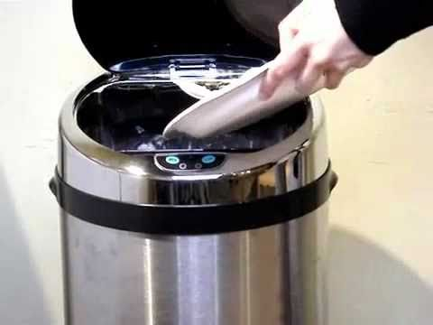 #1: TOUCHLESS TRASH CAN ®
