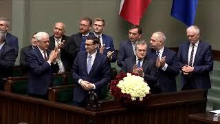 Expose premiera Mateusza Morawieckiego w Sejmie