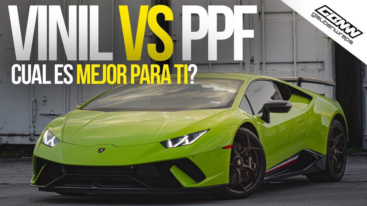 Que es Mejor? Wrap con vinil o Paint Protection Film PPF / Wrap VS PPF / Glaubenwraps