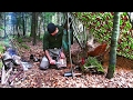 Overnight Bushcraft Camp And North American Indian Arts