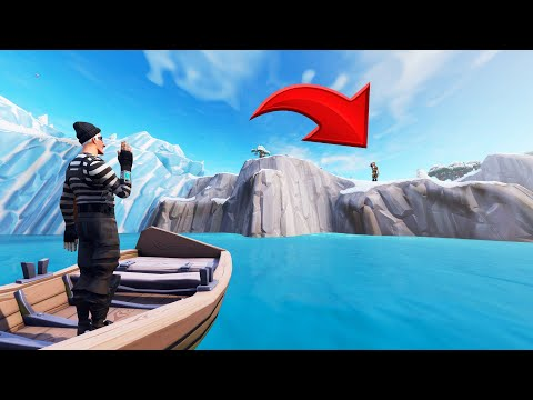 He Could NEVER Spot Me HERE! (Fortnite Hide and Seek)