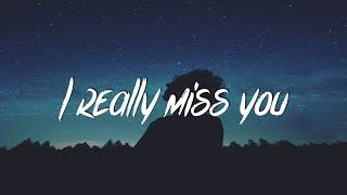 rxseboy - i really miss you (Lyrics / Lyric Video) prod. con