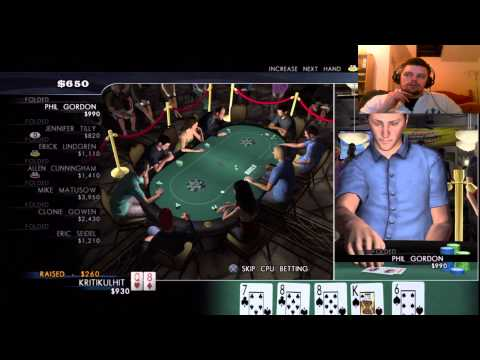 World Series Of Poker (#1) Playing Blind!