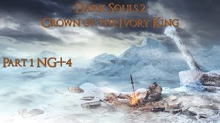 Dark Souls 2 Crown Of The Ivory King Часть 1 Буря