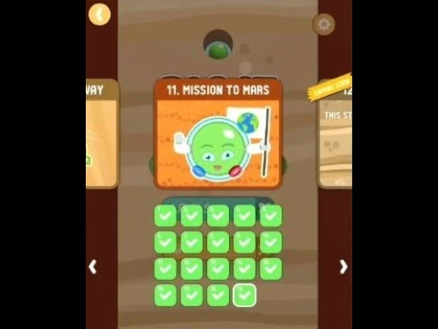 dig it game mission to mars level 1 to 20 walkthrough & solutions