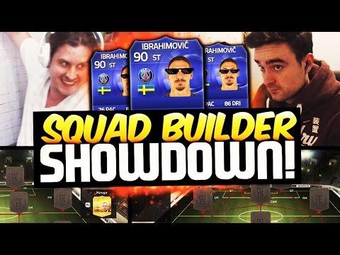 IBRA VS IBRA SQUAD BUILDER SHOWDOWN VS AJ3FIFA! FIFA 15 ULTIMATE TEAM