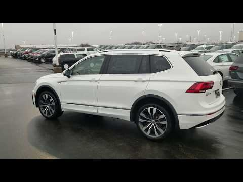 2019 VW Tiguan 2.0T SEL Premium R-Line 4Motion w/ 3rd row seats