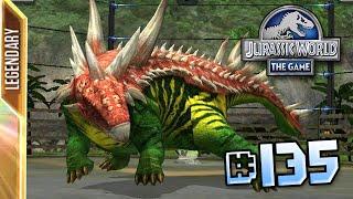 Antarctopelta!! || Jurassic World - The Game - Ep 135 HD