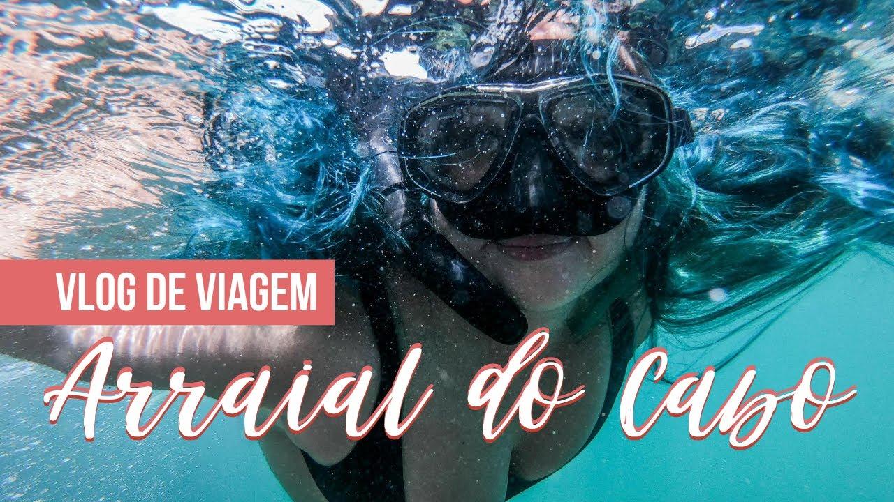 ARRAIAL DO CABO: Vlog de viagem | Rio de Janeiro | Júlia Orige