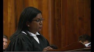 Advocate Andrea Johnson on behalf on the state #OscarPistorius