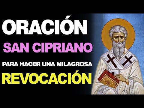 🙏 Oración MILAGROSA DE REVOCACIÓN a San Cipriano 🙇️