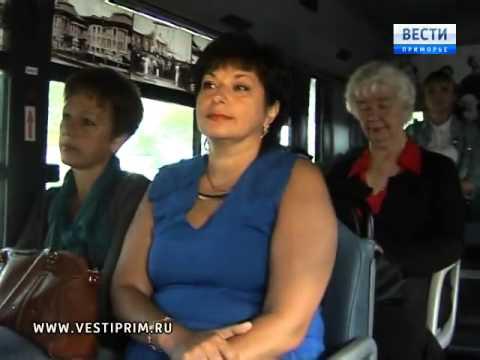 В Уссурийске на маршрут вышел исторический автобус
