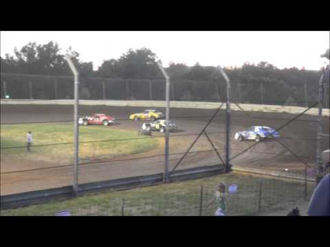 Doe Run Raceway Mini Stock Heat 8-1-15