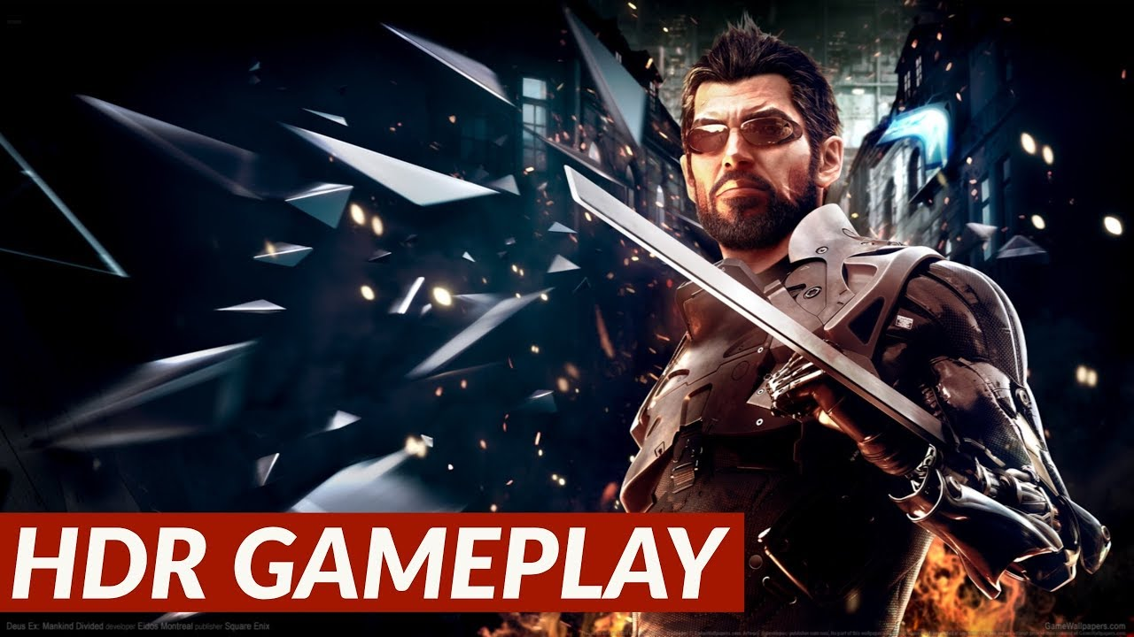Deus Ex Mankind Divided Hdr Gameplay Ps4 Pro Youtube