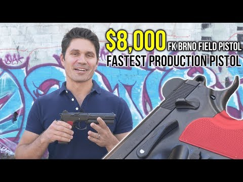 The Fastest Production Pistol in the World (?): The $8,000 FK BRNO Field Pistol