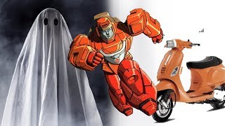 Ghost or Transformers LIVE FOOTAGE